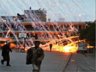 Israeli Phosphorus Shelling