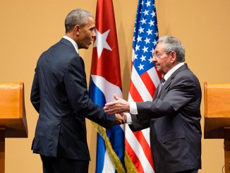 President Obama and Cuban President Raúl Castro